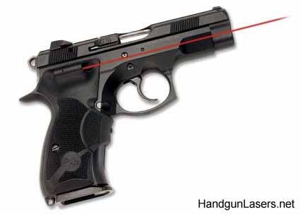 Crimson Trace Lasergrips Cz 75 Compact Info Photo Handgunlasersnet