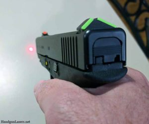 Lasermax guide rod activation switch photo