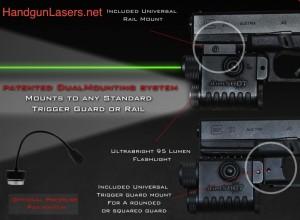 Aimshot LS8268-Pistol-Green-Laser-Sight-Combo-2