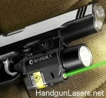 Barska Green Laser and Light right side mounted