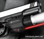 Barska Red Laser & Light right side mounted