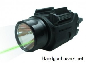Beamshot GB 9001G left side unmounted