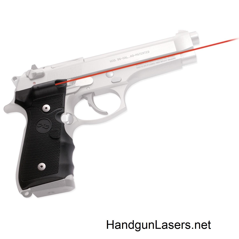 Crimson Trace Lasergrips Beretta 92/96/M9 Info & Photo