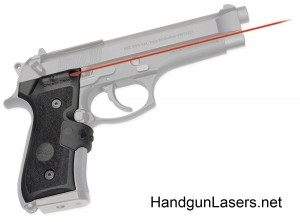 Crimson Trace Lasergrips Beretta 9296M9 Mil-Spec right side