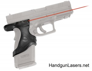 Crimson Trace Lasergrips Springfield Armory XD45 right side