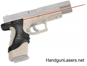 Crimson Trace Lasergrips Springfield Armory XD9 & XD40 right side