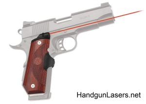 Crimson Trace Master Series Lasergrips 1911 Bobtail Rosewood right side