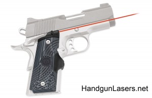 Crimson Trace Master Series Lasergrips 1911 Compact Black and Grey right side