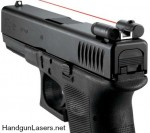 LaserLyte Sight Rear Glock