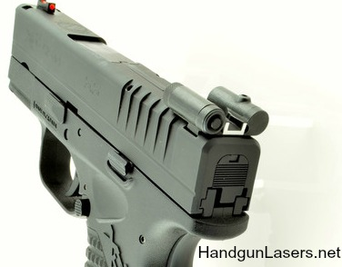 LaserLyte Sight Rear XD, XD(M), XDS Info & Photo | HandgunLasers net