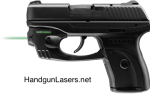 Lasermax Centerfire Laser Green Ruger LC9 and LC380 Left Side