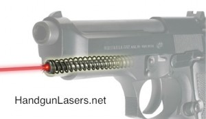 Lasermax Guide Rod Laser Beretta and Taurus Left Side photo