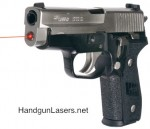 Lasermax Guide Rod Laser SIG P228 Left Side photo