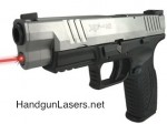 Lasermax Guide Rod Laser Springfield XDM 4.5 inch barrel Left Side photo