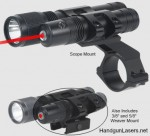 STSLLCP - Stealth Tactical Red Laser Sight and Flashlight - BSA Optics