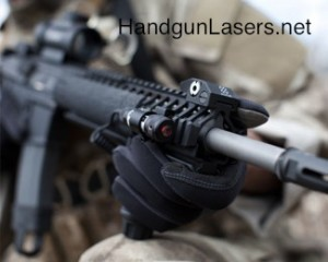 centerpoint compact red laser attached to rifle