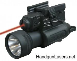 Blast 2 laser sight unmounted left side