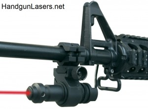 LAS TAC sight mounted left side