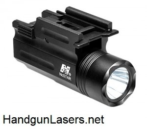 NcStar Flashlight & Laser Combo right side unmounted