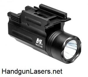 NcStar Flashlight & Laser Combo right side unmounted