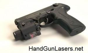 Phoebus PLG-3 laser sight mounted