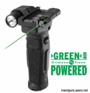 The MVF-515 with the green laser.