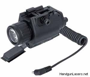 The Illuminated Laser Sight with the clear lens.