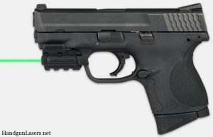 Lasermax Spartan green left side photo